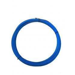 Tire-fils en acier/nylon 4 mm L 15 M sans dévidoir + 2 embouts M5, une tête flexible et un oeillet