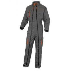 Combinaison de travail en polyester/coton - double zip