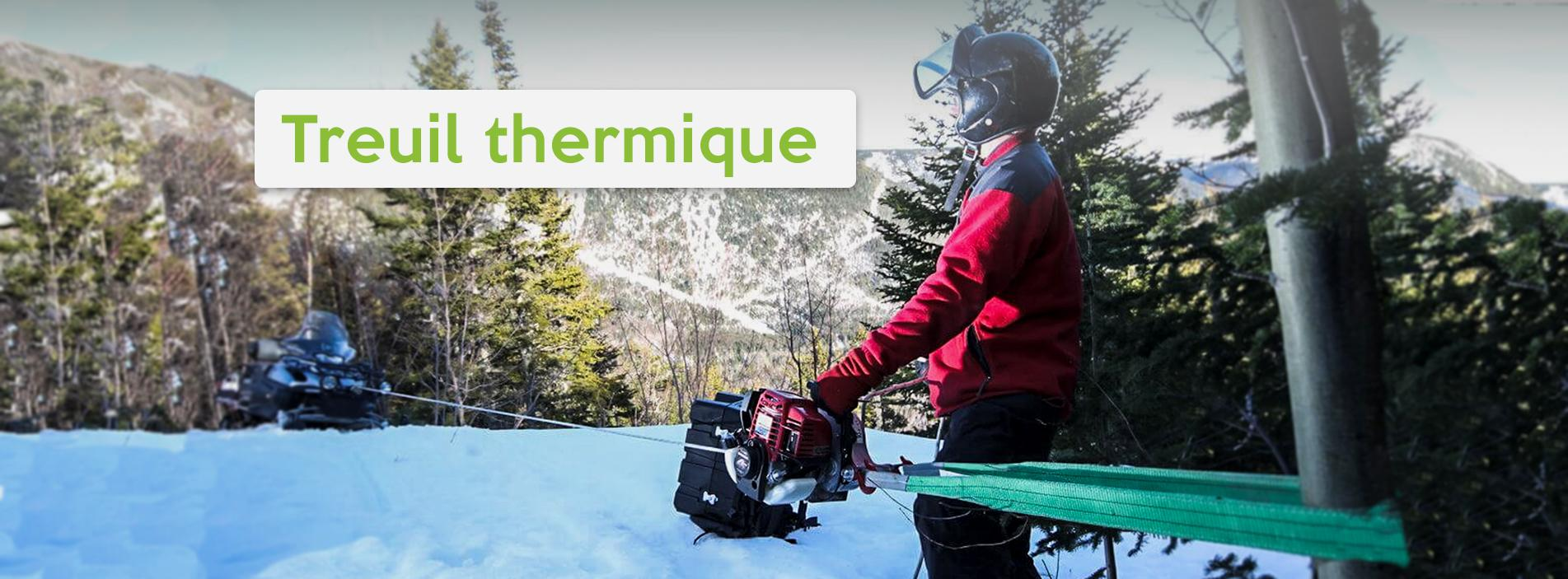 Treuil thermique